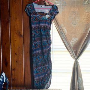 Dresses & Skirts - Tropical Dress with Slit🌴